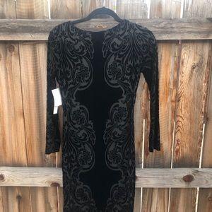 Dresses & Skirts - Vintage velvet cocktail dress